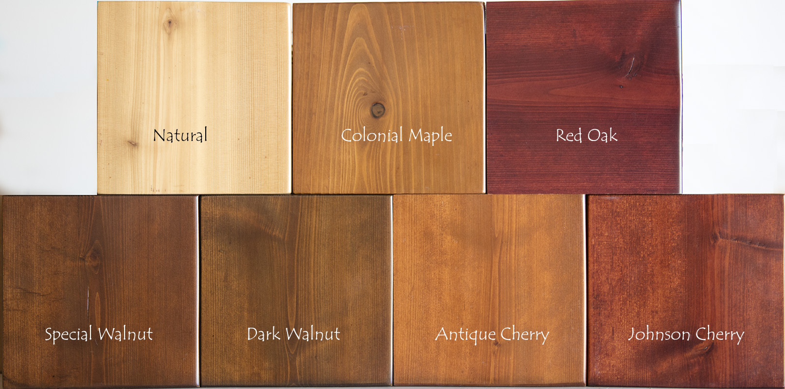 Cedar Stain Colors