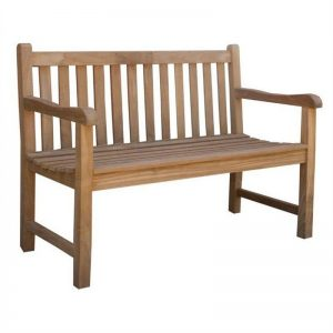 Classic Teak Outdoor Bench Manufacture