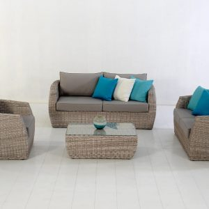 Havana Living Set Wicker Synthetic