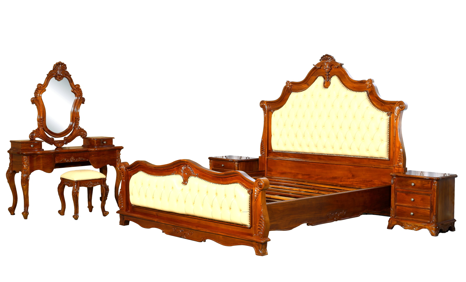 Kartini Teak Bedroom Furniture Hotel