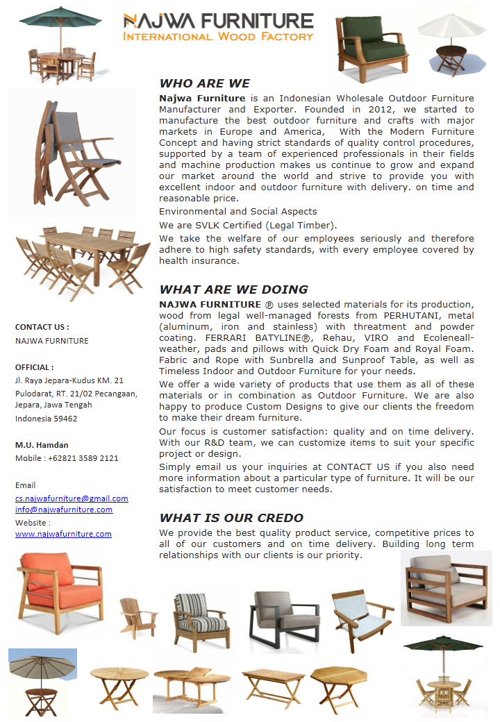Company Profile_Outdoor Collections