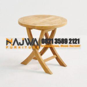 Round folding side table germany furniture
